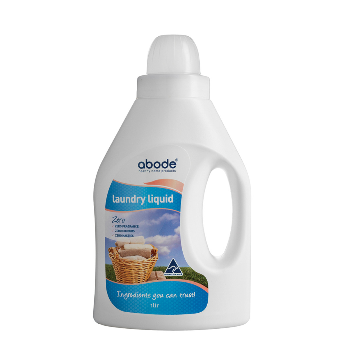 ABODE - Laundry Liquid (Front and Top Loader) Zero